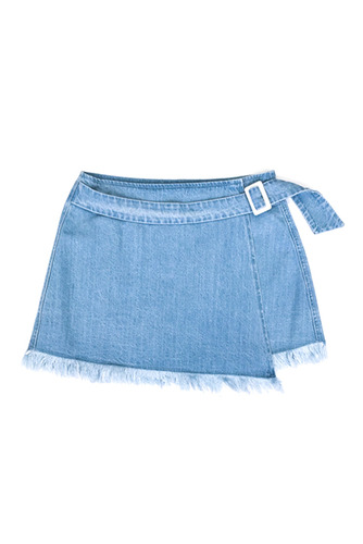 [16 S/S] Hoodlum denim skirt