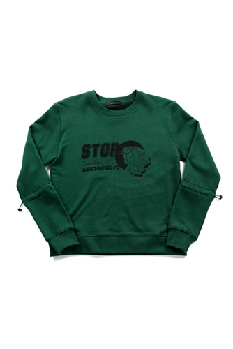 STOP GREEN SWEAT SHIRTS