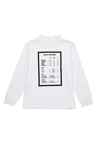 MENU BOARD T-shirt
