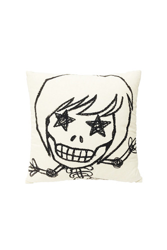 SKULL HONG WHITE CUSHION