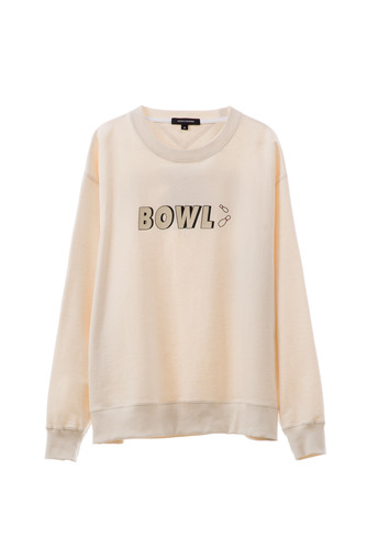 BOWL SWEAT SHIRT (IVORY)