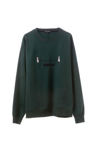 SPLIT SWEAT SHIRT