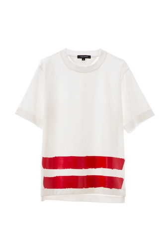DOUBLE PIN T-SHIRT (WHITE)