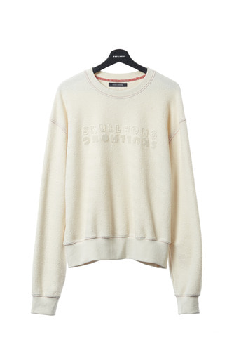 SKULLHONG SWEAT SHIRT (IVORY)