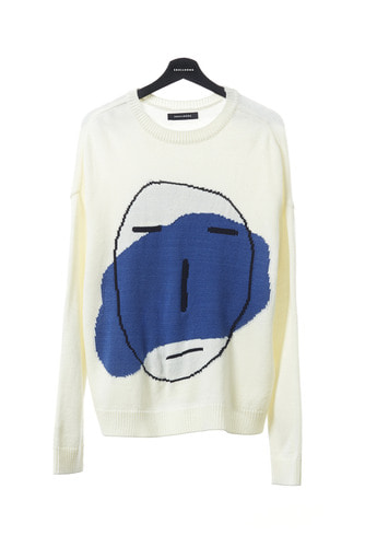 POKER FACE OVERSIZED KNIT