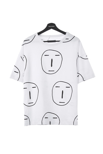 [3차리오더] POKER FACE ALL OVER T-SHIRT