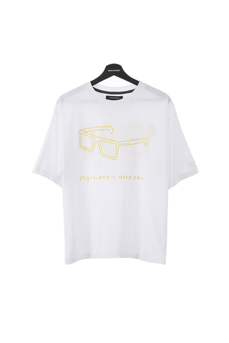 SUNGLASS T-SHIRT (WHITE)