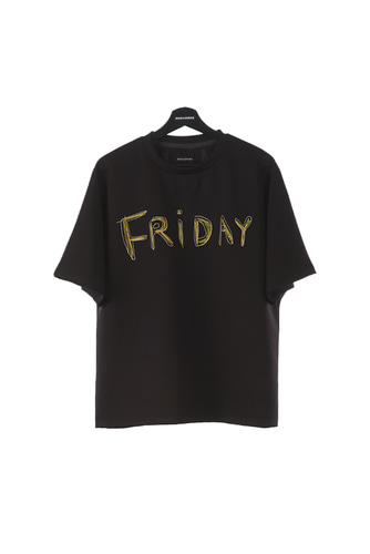 FRIDAY T-SHIRT (BLACK)