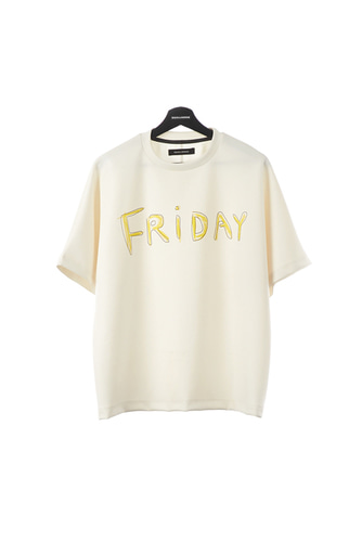 FRIDAY T-SHIRT (WHITE)