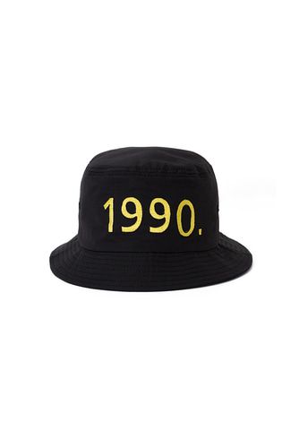 1990 BUCKET HAT (BLACK)