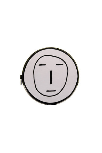 [LIMITED] POKER FACE CIRCLE POUCH