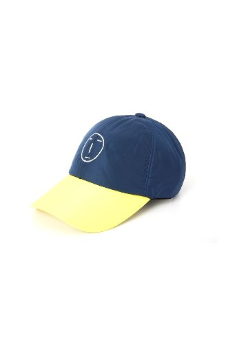 POKER FACE PADDING BALL CAP (BLUE)