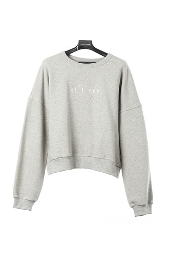 SLEEPER SWEATSHIRT (MELANGE GREY)
