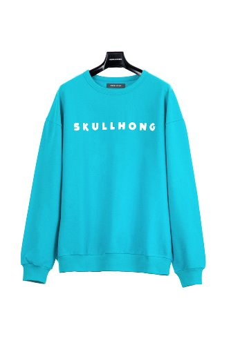 LOGO SWEATSHIRT (BLUE GREEN)