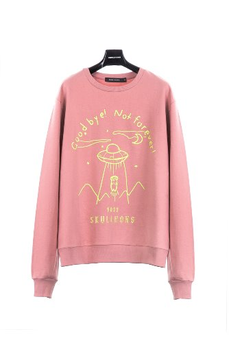 SPACE SWEATSHIRT (PINK)