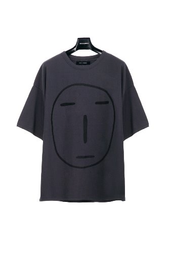 [19 S/S] POKER FACE T-SHIRT (CHARCOAL)