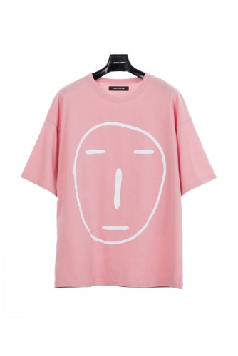 POKER FACE T-SHIRT (PINK)
