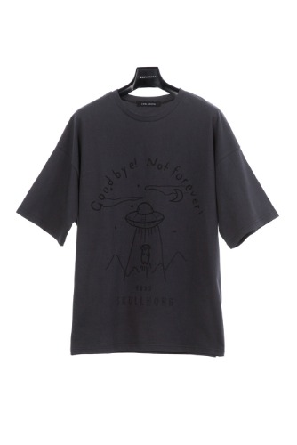 SPACE T-SHIRT (CHARCOAL)