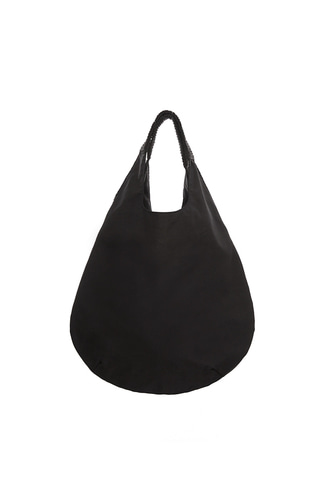 [18 S/S] HANDLE POINT ECO BAG (BLACK)