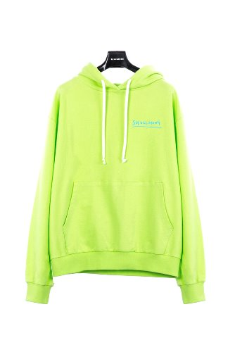 [19 S/S] SPACE HOODIE (YELLOW GREEN)